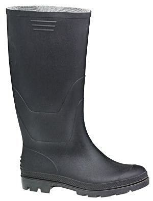 High Leg Water Resistant Rubber Boots