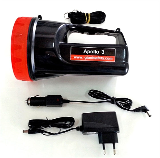 APOLLO 3 Rechargeable LED Flashlight
