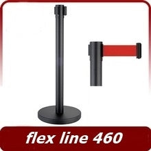 FLEX LINE 460 Barrier Pole with Belt