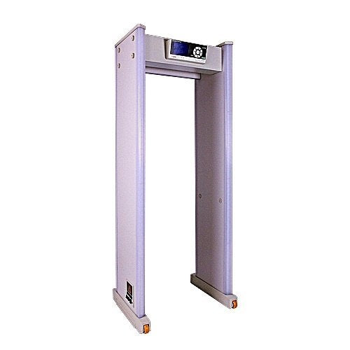 KING GUARD 8500 Walk Through Metal Detector with Wheels