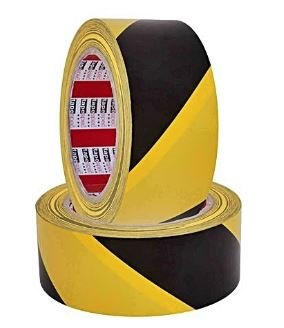 Sticky Marking Tape - Yellow and Black