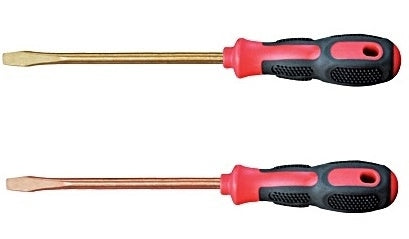Non Sparking Flat Head Screwdriver
