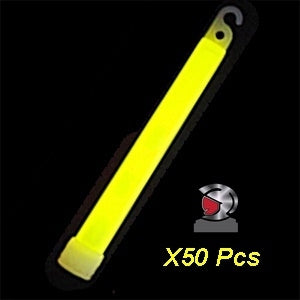 Yellow Sticklight 50pcs