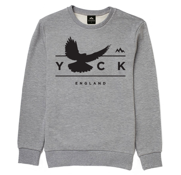 Bird of Prey Sweater (Grey)