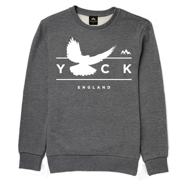 Bird of Prey Sweater (Dark Grey)