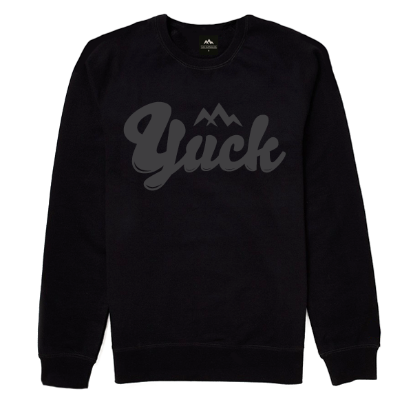Logo Sweater (Black)