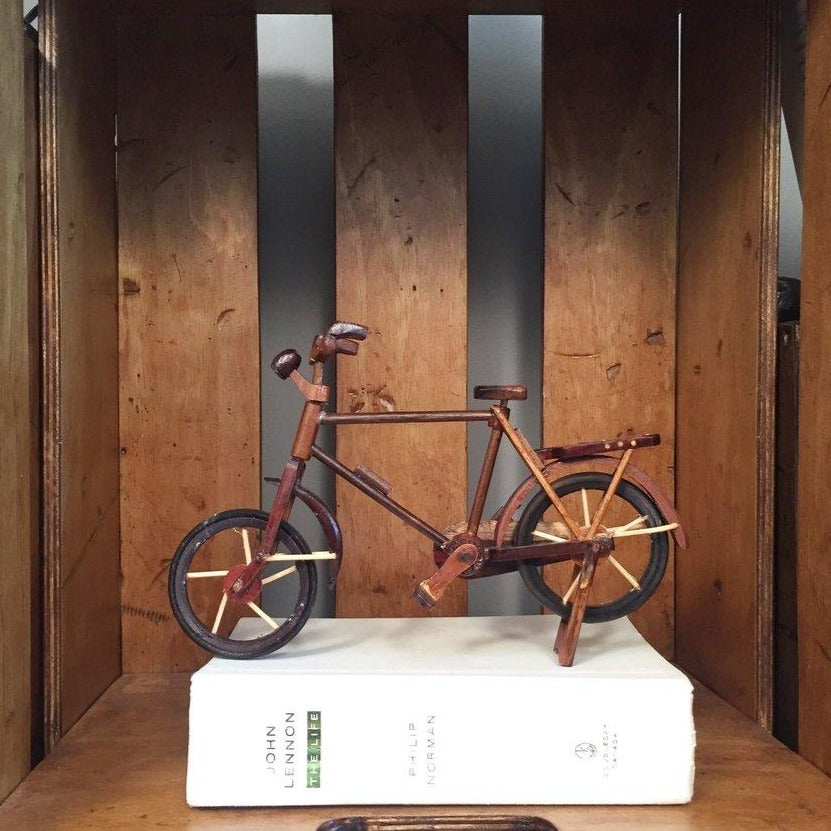 Wooden Handcrafted Bicycle