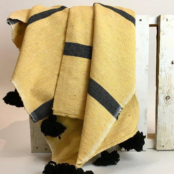 Sahara Handwoven Moroccan Throw
