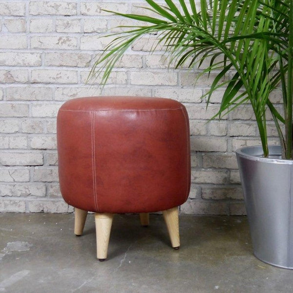 Vegan Leather Stool