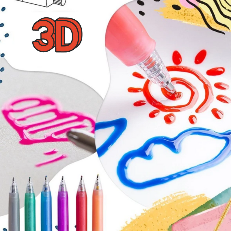 Super Canetas 3D -IMAGGINE PEN