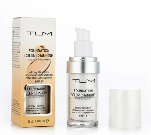 Base Mágica TLM 30 ml - Mudança de Pele - Color Liquid Foundation