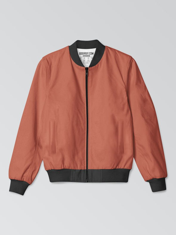 GOG-ORANGE-PLAIN-BOMBERJACKET