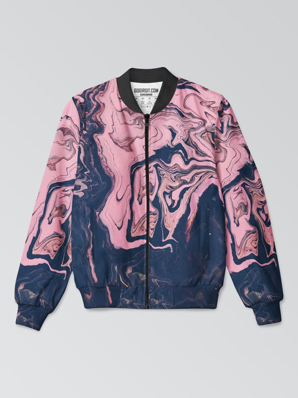 PAINTEDABSTRACT-AOPBOMBERJACKET-GOG