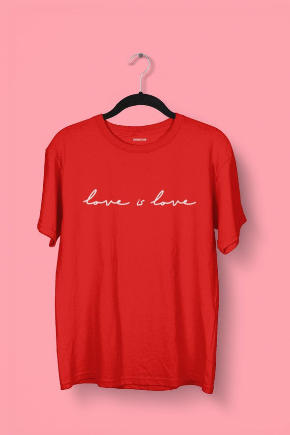 LOVE IS LOVE GAY T-SHIRT