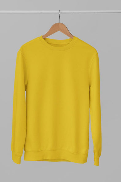 ROUND-NECK-SWEATSHIRT-PLAIN-SOLID-MUSTARD-YELLOW-WINTERWEAR-UNISEX