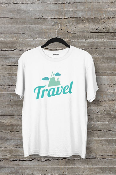 Travel Men's Half Sleeve Travel T-shirt - GOGIRGIT.COM