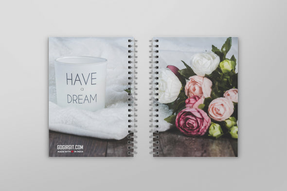 Have a dream binding notebook