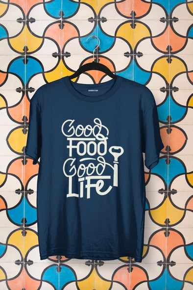 Good Foodie Life T-shirt - GOGIRGIT.COM