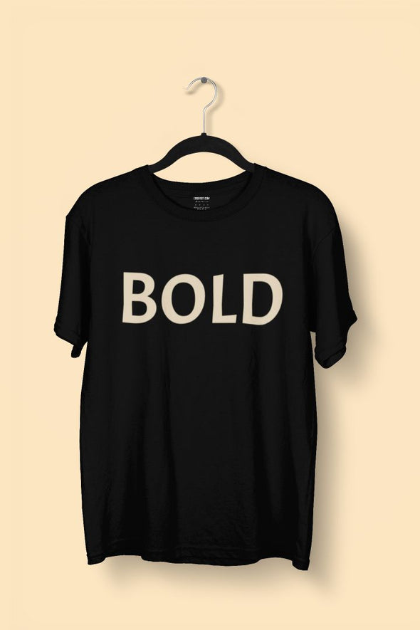 Bold Men's T-shirt