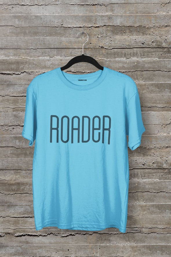 Roader Men's Typography Travel T-shirt - GOGIRGIT.COM