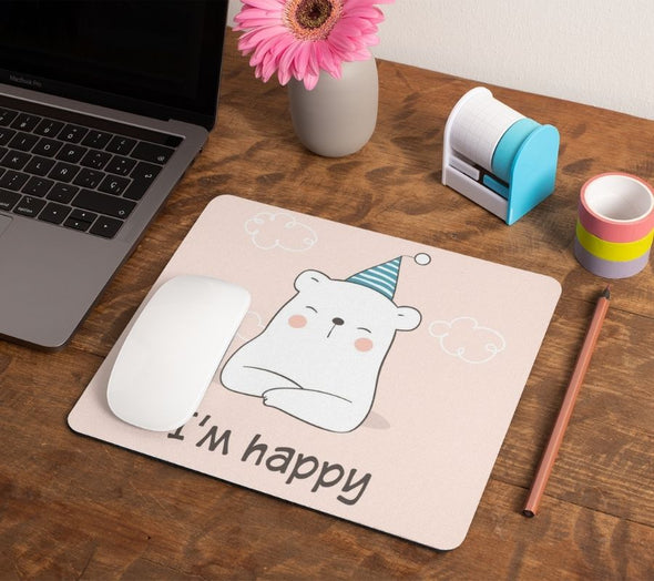 Happy Me Mouse Pad - GOGIRGIT.COM