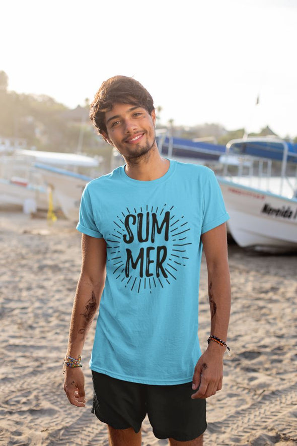 Summer Men's Travel T-shirt - GOGIRGIT.COM
