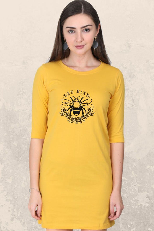 t-shirt-dress-gogirgit-be-kind-golden-yellow