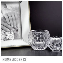 Mikasa Home Accents. Beautiful crystal, glass and storage pieces for every home.