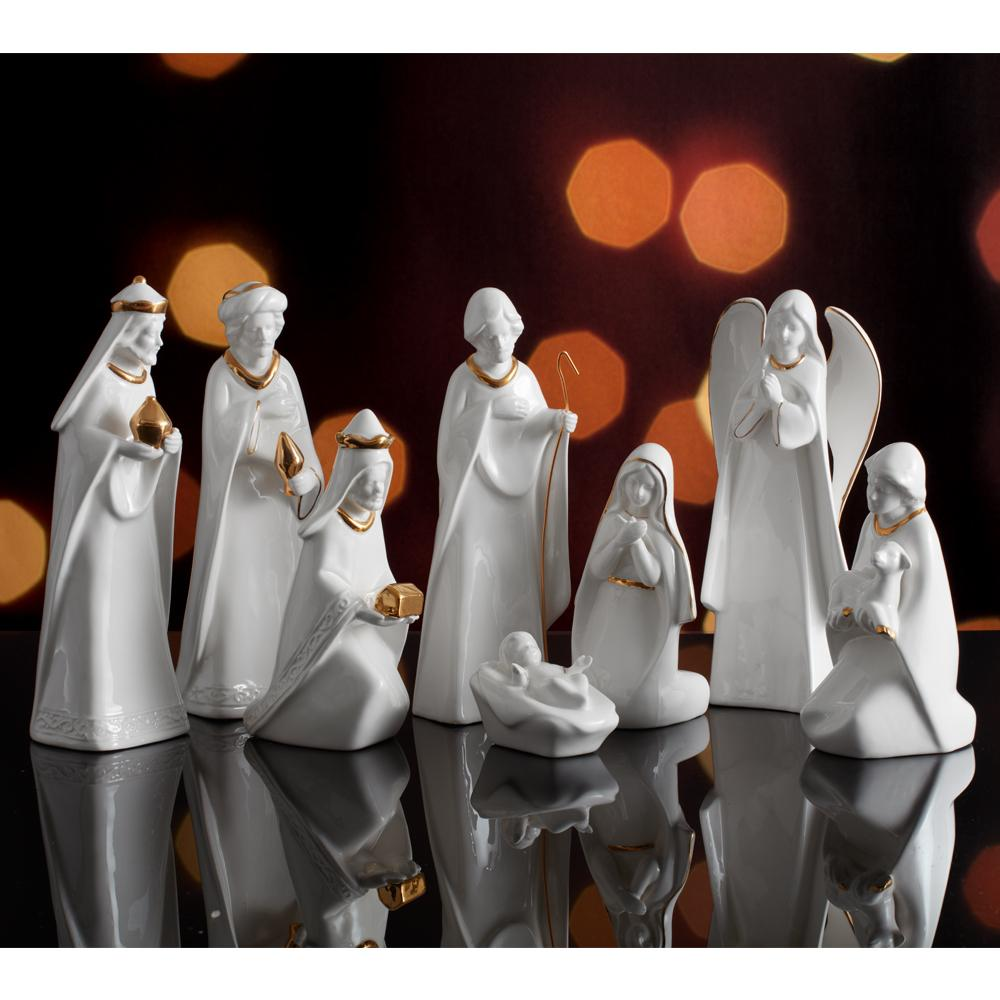 Holiday Splendor 8 Piece Nativity Set Mikasa