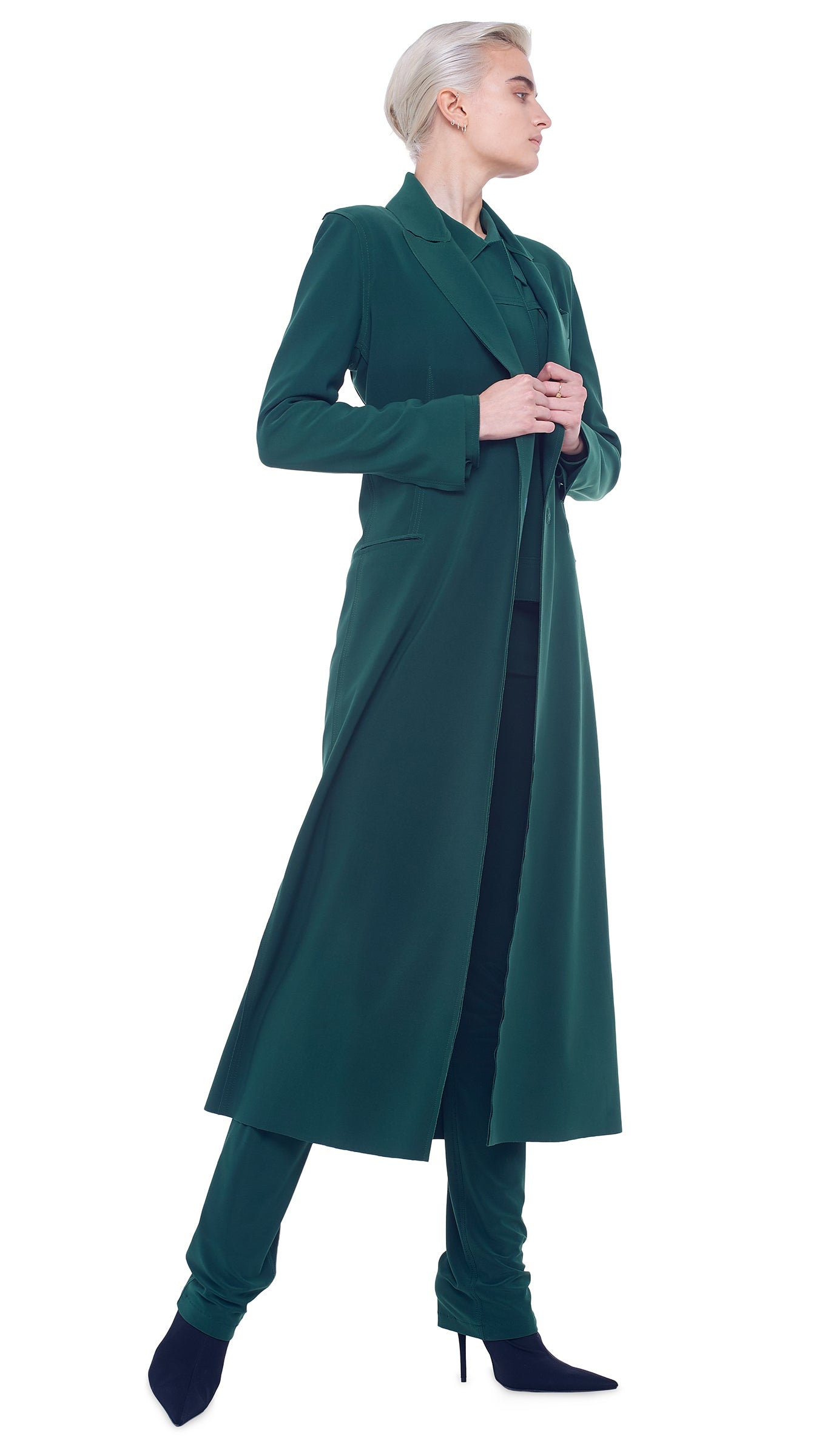 DOUBLE BREASTED COAT DRESS