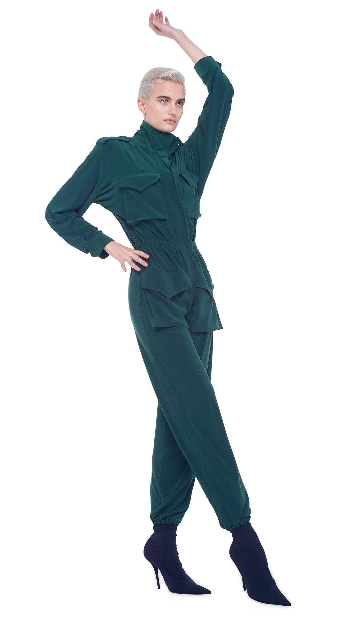 TURTLE CARGO JUMPSUIT