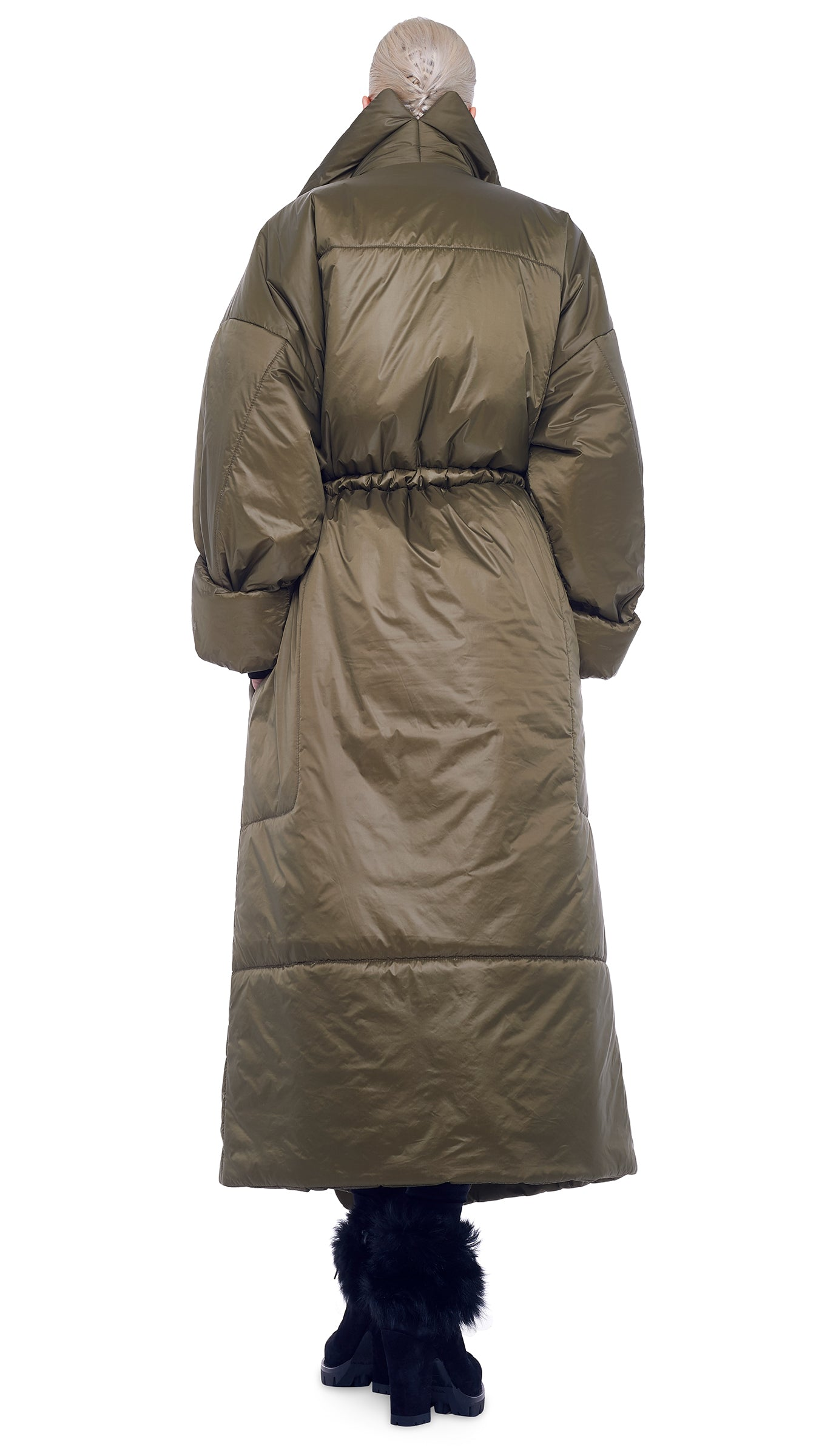 OVERSIZED BOYFRIEND SLEEPING BAG COAT