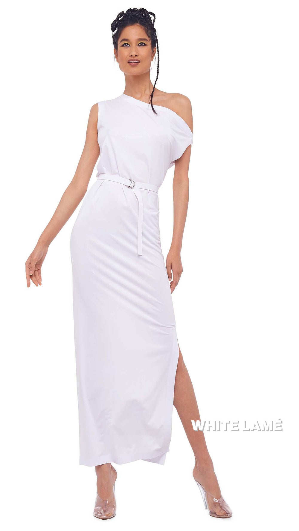DROP SHOULDER GOWN