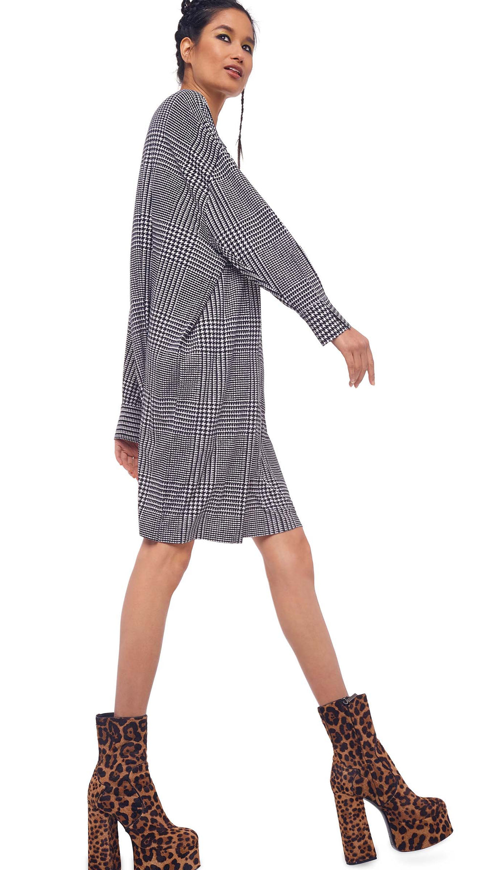 SUPER OVERSIZED BF NK SHIRT MINI DRESS