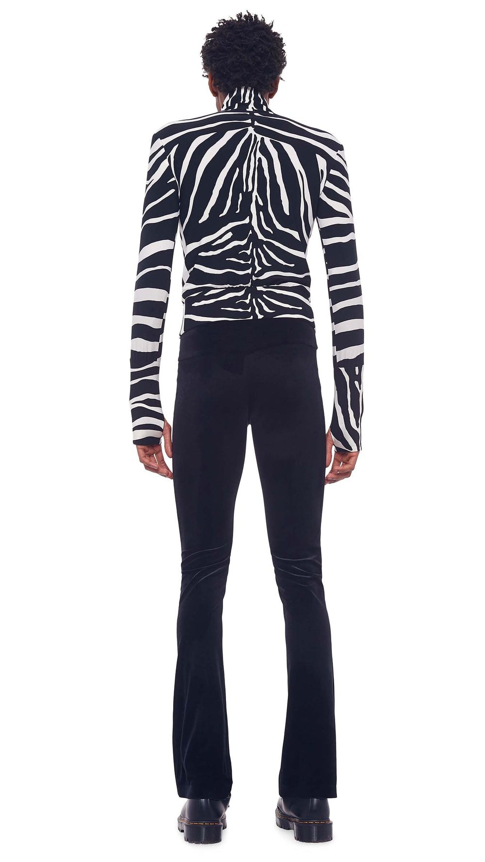 SIDE STRIPE TURTLE JACKET