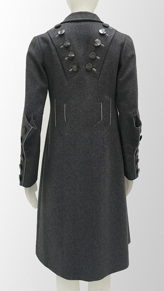 20'S STYLE INSPIRED COURT COAT - 1