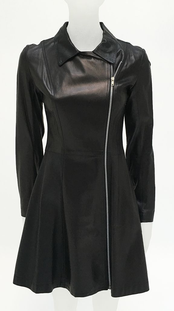LEATHER TRENCH - 3