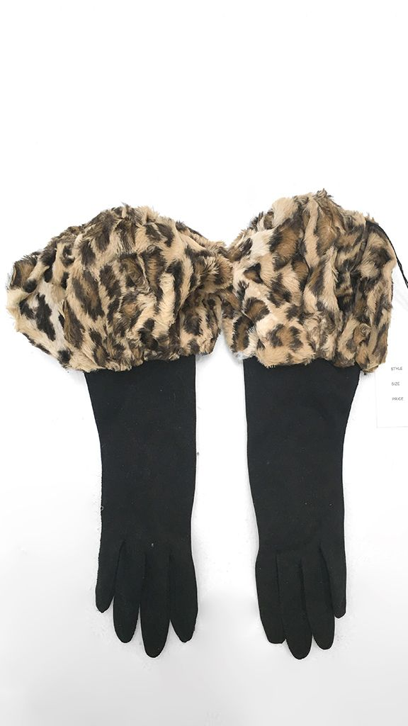 LEOPARD GLOVES - 1