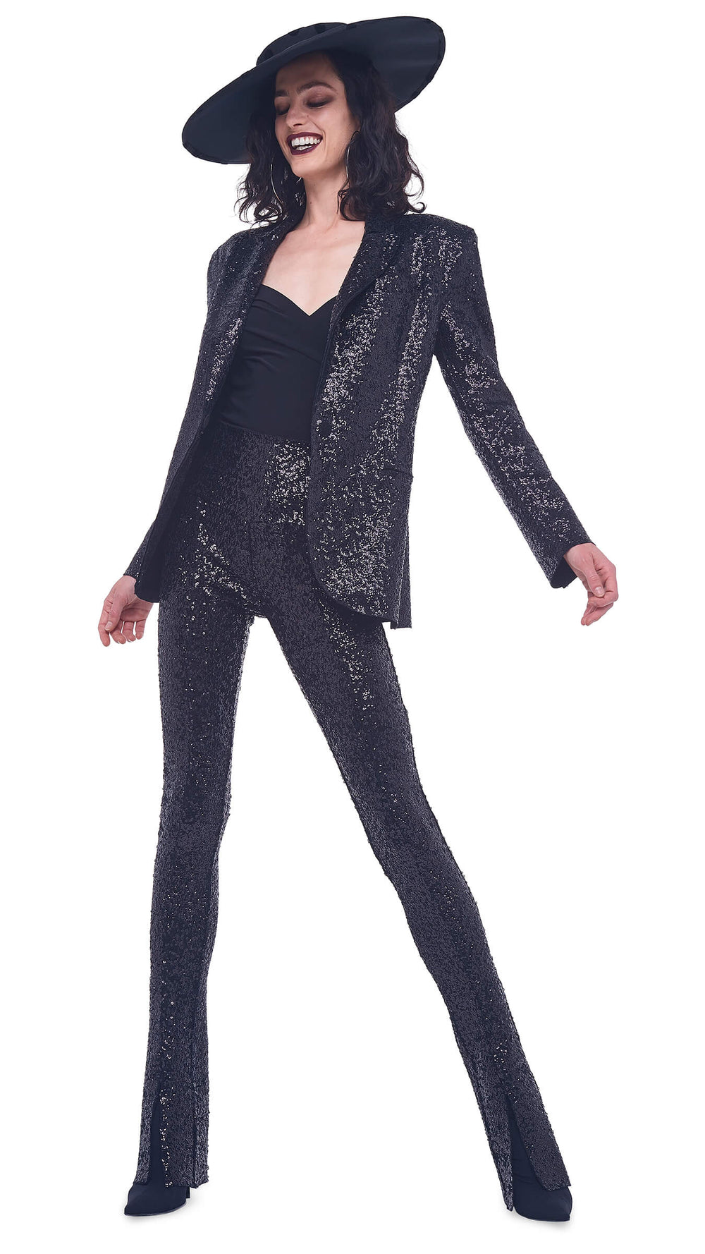 SEQUIN SPAT LEGGING