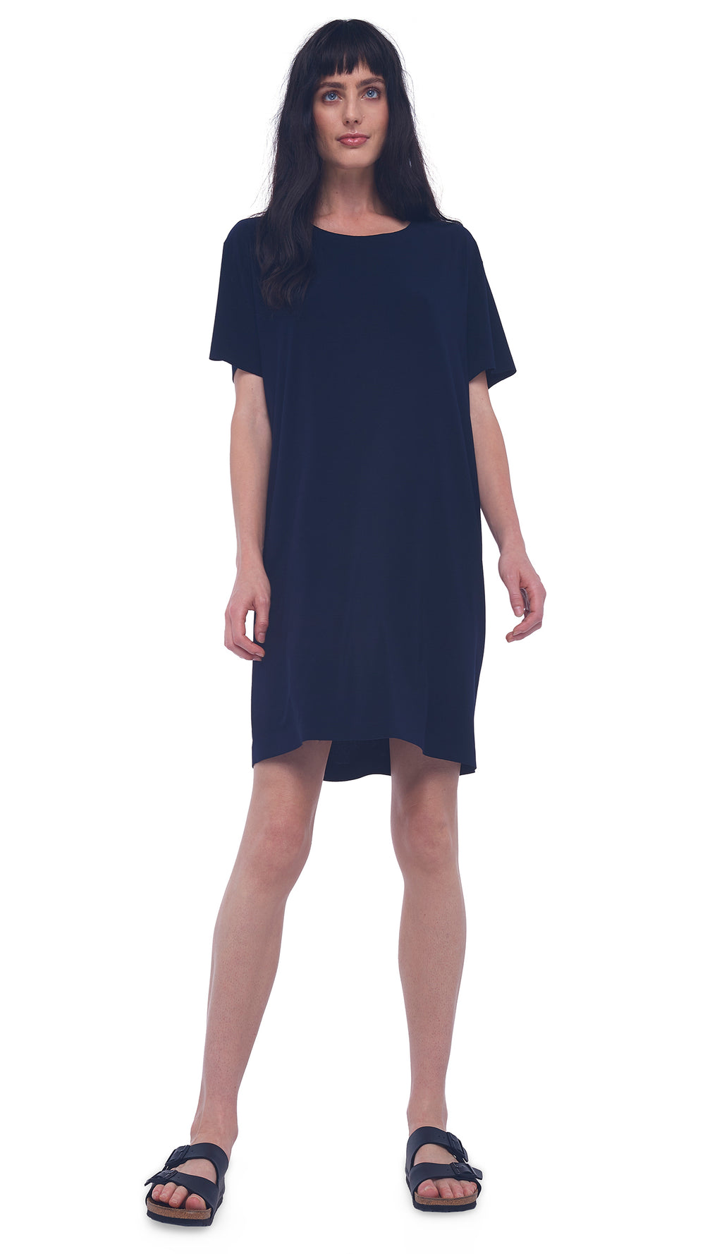 BOXY DRESS TO KNEE