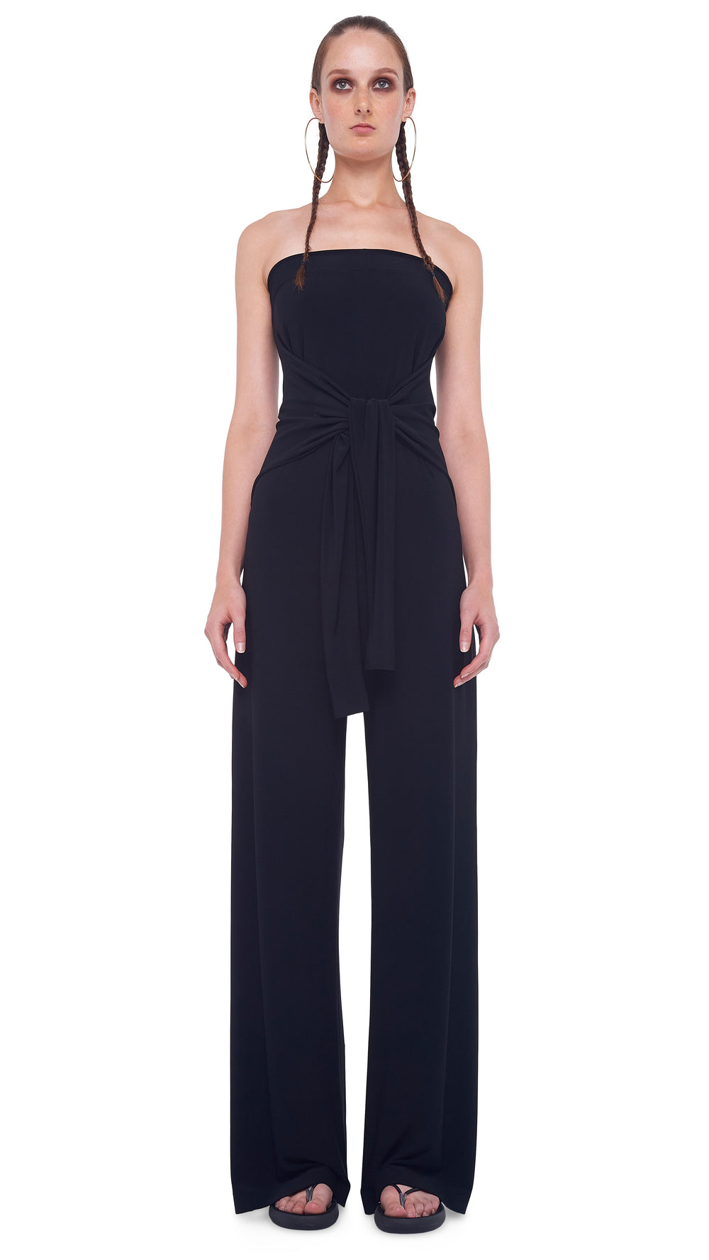 TY FRONT ALL IN ONE STRAPLESS JUMPSUIT - 1
