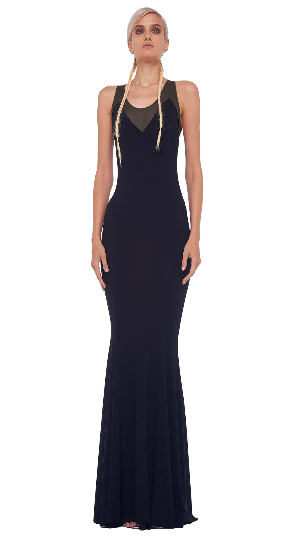 RACER FISHTAIL GOWN COMBO