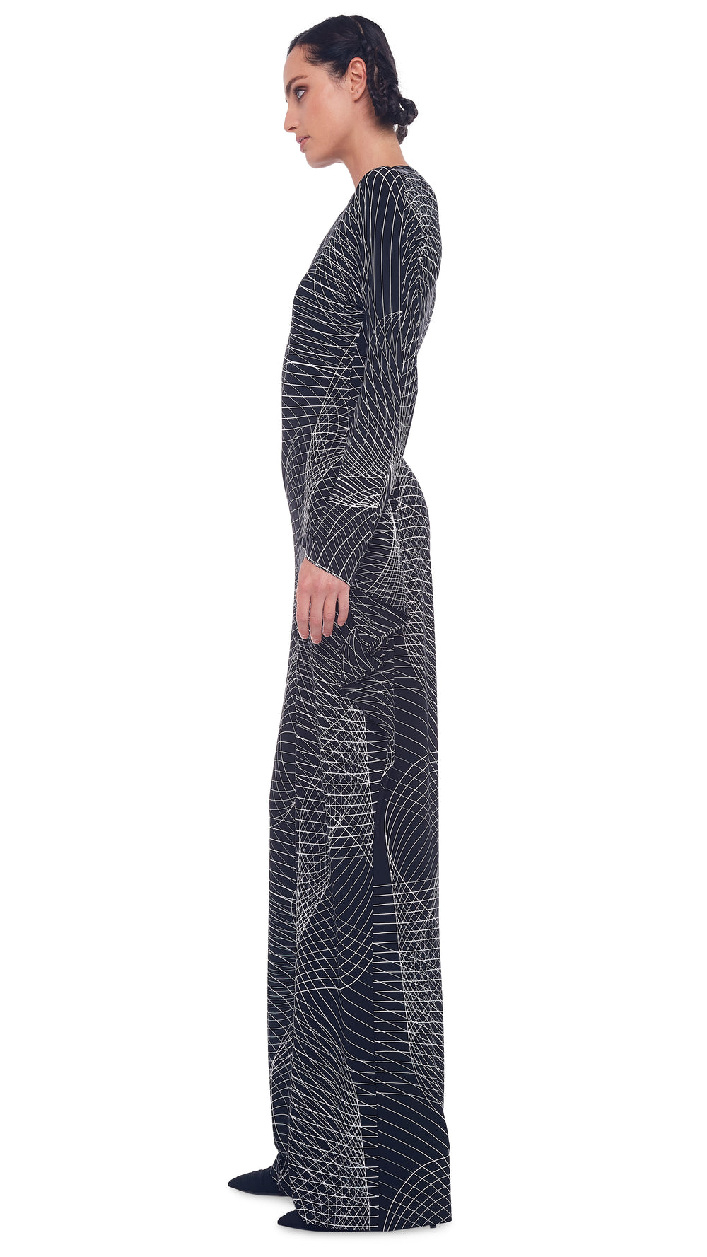 MODERN SCULPTURE JUMPSUIT