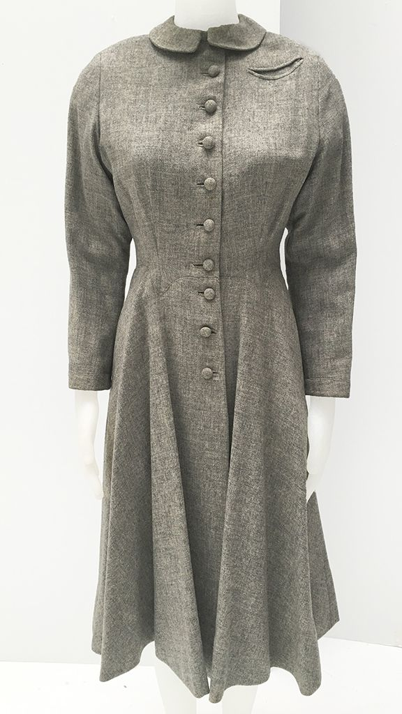 VINTAGE 50'S COAT NK PERSONAL COLLECTION - 1