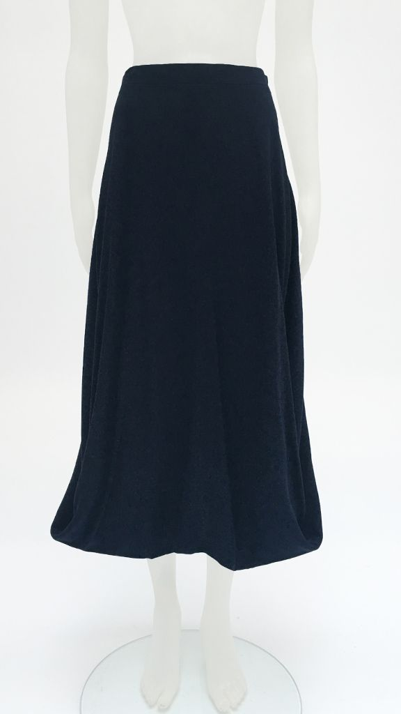 SIDE LOOP LONG SKIRT - 1