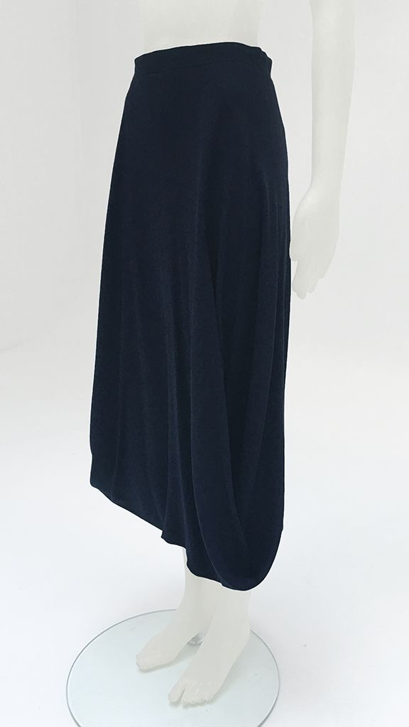 SIDE LOOP LONG SKIRT - 2
