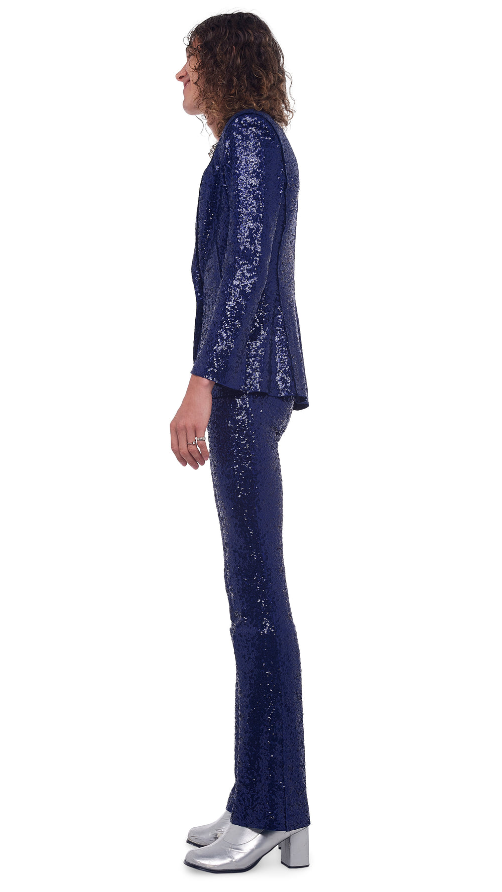 SEQUIN BOOT PANT