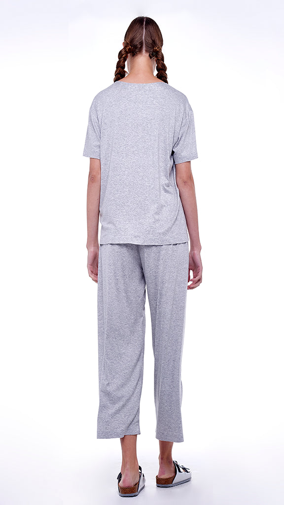 CROPPED BOYFRIEND SWEATPANT