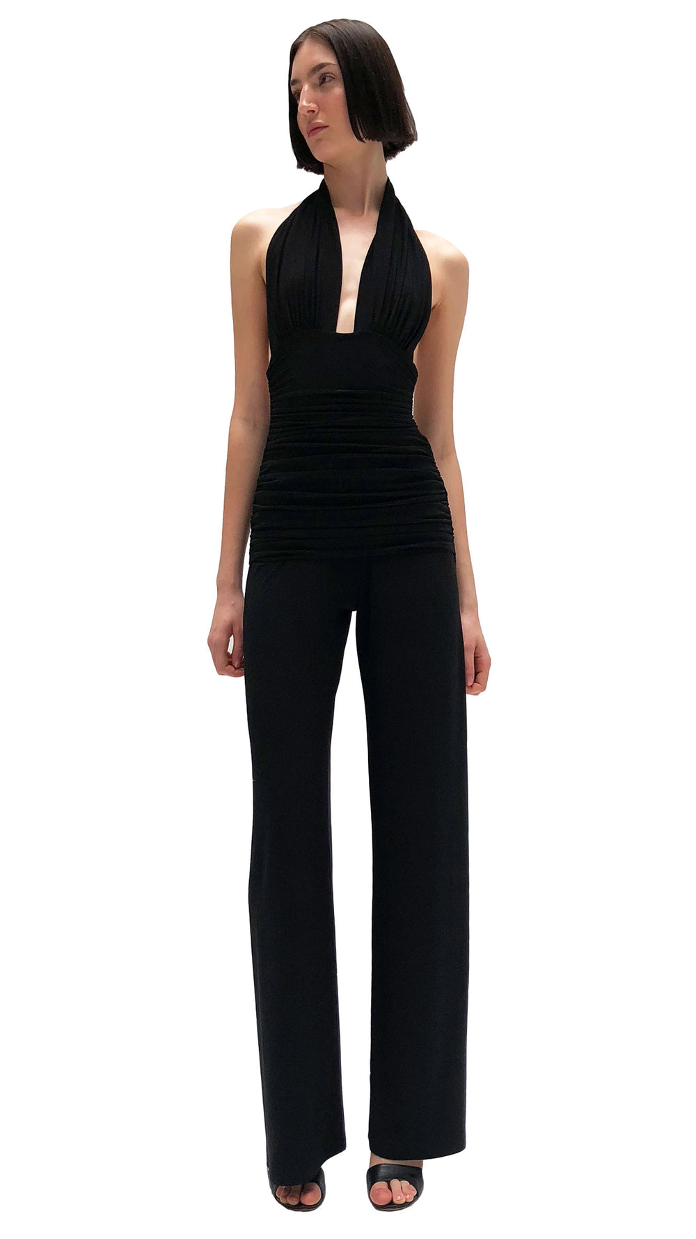 HALTER BILL JUMPSUIT - 1