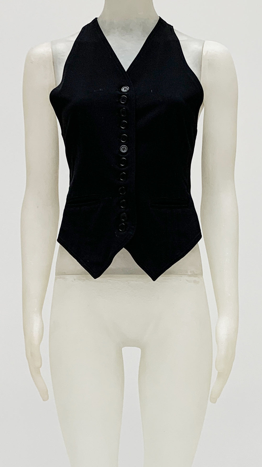 TAILORED BUTTON FRONT VEST - 1